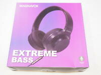 Magnavox Foldable Stereo Headphone with Extreme Bass - Black