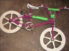 Old School Traker freestyle bmx bike 20 inch Skyway OE mag wheels Velo gripper