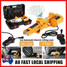 2 3ton Automotive Electric Scissor Jack Lift 12v W Remote Hoist for SUV Van Car