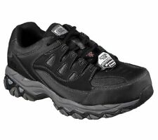 Skechers Men's 7777710 Holdredge Slip Resistant Steel Toe Safety Shoes