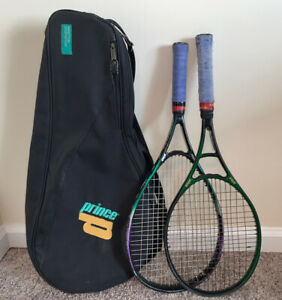 Lot of (2) Prince Tennis Racquets - Synergy Extender & Precision 730