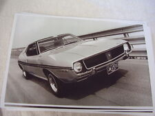 1971 AMC RAMBLER JAVELIN  ON TRACK FRONT VIEW    11 X 17  PHOTO  PICTURE