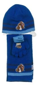 The Secret Life of Pets Boys Hat, Gloves & Scarf Set - 1 Size Fits 3/9 Yrs