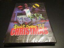 "DVD NEUF ""DON'T OPEN TILL CHRISTMAS"" film d'horreur de Edmund PURDOM"