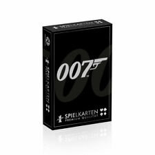 Number 1 Spielkarten James Bond 007 Edition Kartenspiel Poker Karten Spiel