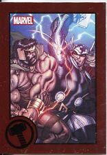 Marvel Greatest Battles Red Bordered Parallel Base Card #30