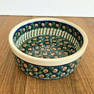 "Polish Pottery Boleslawiec Bowl Dish - 5"" Diameter"