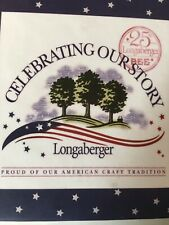 These Are Very Nice Coasters That Celebrate Longaberger'S 25Th Anniversary