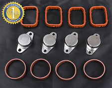 BMW SWIRL FLAP BOUCHON CLAPET BLANKS BUNGS AND MANIFOLD GASKETS 4 x 22 mm