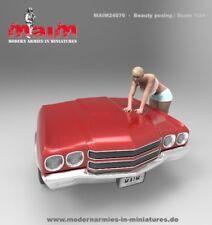 MAiM 1/24 Car Wash Girl Posing Vol.2 (1 figure,3D printed soft resin)