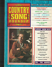 Country Song Roundup June 1969 Johnny Cash Marty Robbins Jim Ed Brown