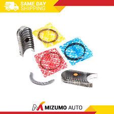 Piston Rings Main Rod Bearings Fit 94-04 Toyota T100 4Runner 2.4 2.7 3RZFE 2RZFE