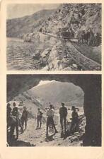 Pferdefeldbahn in Albanien und Mazedonien Macedonia, Albania ca 1910s Postcard