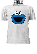 Sesame Street amante Cookie Monster familia Camiseta Hombres Mujeres Unisex V68