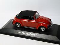VW / Volkswagen coccinelle COX 1302 cabriolet au 1/43 de Minichamps / Maxichamps