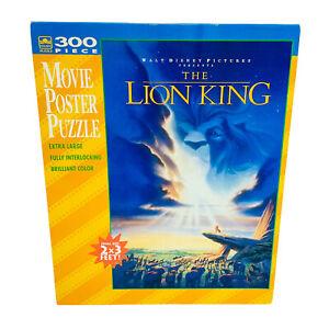Walt Disney Lion King Movie Poster Puzzle 300 Piece 2 x 3 Feet NEW SEALED