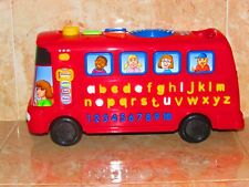 V TECH PLAY TIME BUS WITH PHONICS