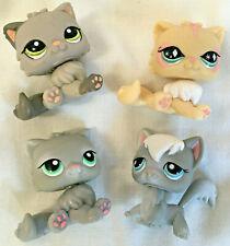 Littlest Pet Shop Lps Lot of 4 Long Hair Persian Angora Cats #82 345 723 & 1159