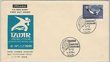 54506 -  TURKEY - POSTAL HISTORY:  nice SPORTS  FDC COVER: TENNIS 1971