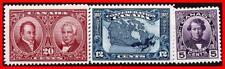 CANADA 1927 GEORGE V / CONFEDERATION SC#145, 47-48 MLH CV$56.50++