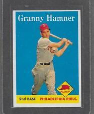 1958 Topps Baseball #268 Granny Hamner EX-MT *6589
