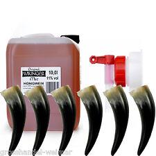 Wikinger Met Honigwein 10 Liter Kanister 6 x Trinkhorn + Auslaufhahn 11 % Vol.