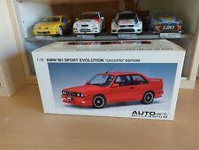 BMW M3 SPORT EVOLUTION CECOTTO EDITION (RED) - 1/18 AUTOART cod. 70566