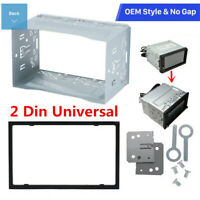 2Din Car Radio Frame Fascia Dash-Panel For DVD Player Stereo-Installation Useful