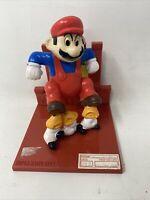 Vintage Hasbro Mario Nintendo Trophy Figure Mario Stomps Mushrooms 1988 Goombas