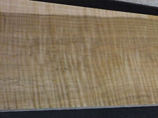 """Long Wide Extreme Figured Curly Tiger Maple Board Wood Lumber 9""""X70"""" FREE SHIP!"""