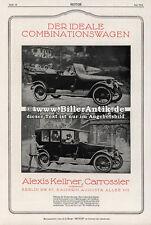 Alexis Kellner Carosserier F. u. S. Kugellager Automarken Motor Original 267