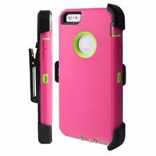 Defender Case for Apple iPhone 8 8+ 7 6S 6 Plus(Belt Clip Holster Fits Otterbox)