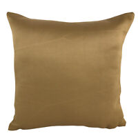 Ochre Nylon Matte Gold - CUSHION COVERS SHOP / FILLED CUSHIONS 18X18""