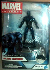 MARVEL UNIVERSE Collection_BLACK PANTHER figure + Light-Up S.H.I.E.L.D. Platform