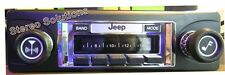 1978-1986 Jeep CJ 5, 7, 8 NEW 300 watt AM FM Stereo Radio iPod, USB, Aux
