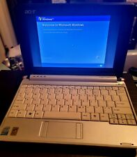Acer Aspire One Series Model ZG5 Laptop/netbook *WHITE* MINI LAPTOP with charger
