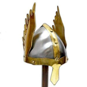 Medieval Nasal Viking Helmet Replica Armor Warrior Helmet
