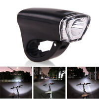 Battery Power - Waterproof LED Bike Bicycle Head Light Front Handlebar Lamp