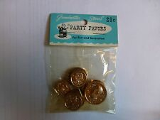 Grandmother Stover Party Favors Coins NIP