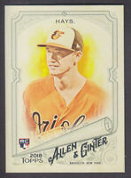 Topps - Allen & Ginter 2018 - Base # 16 Austin Hays - Baltimore Orioles RC