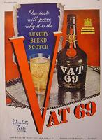 1945 Esquire Advertisements WWII Era VAT 69 Scotch Whiskey JANTZEN Pete Hawley