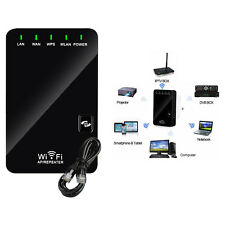 Wifi Repeater 5 in 1 300 Mbit Kabellos N AccessPoint WLAN Verstärker Mini Router