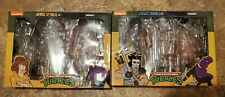 EMPTY BOX NECA TMNT CASEY JONES AND  FOOT SOLDIER AND APRIL AND FOOT SOLDIER