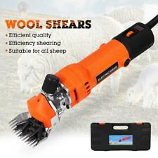 220V Electric Sheep Shearing Pruning Machine Clipper Shears Cutter Wool Scissors