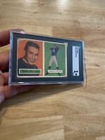 Johnny Unitas ROOKIE SGC 1 VELVET SMOOTH 1957 Topps 138 INVEST AGAINST INFLATION