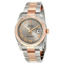 Rolex Oyster Perpetual Datejust Rhodium Dial Automatic Ladies Stainless Steel