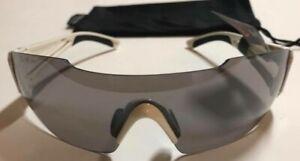 NEW Serfas Aspect Cycling Sunglasses White Vented Grey Multi Coat Lenses