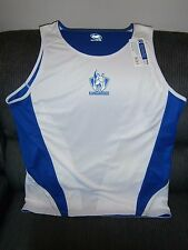 NEW NORTH MELBOURNE KANGAROOS MENS PREMIUM SINGLET XXL SIZE AFL OFFICIAL MERCH