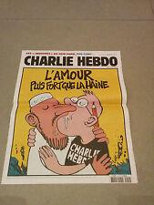 CHARLIE HEBDO french magazine  very rare No 1012