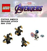 Autêntico Novo Lego Marvel Batedor 76123 Batedor Minifig almofada de ombro só